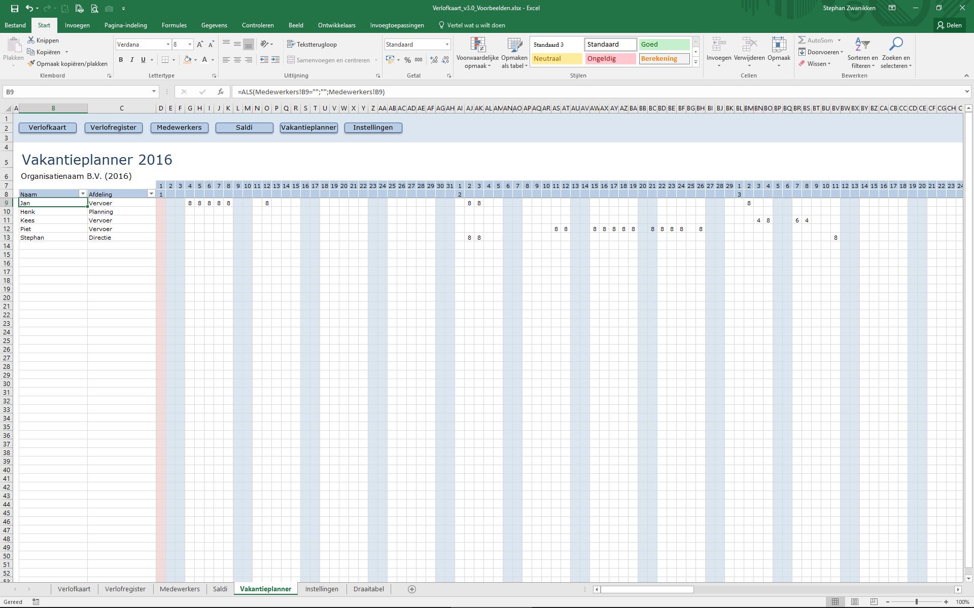 vie-screenshot-vakantieplanner